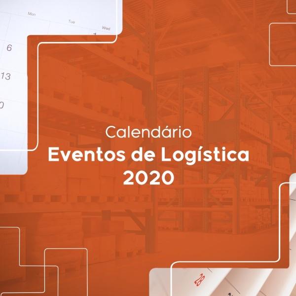 Calendário de eventos de Logística 2020